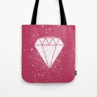 Space Diamond  Tote Bag