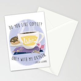 Only With My Oxygen Stationery Cards