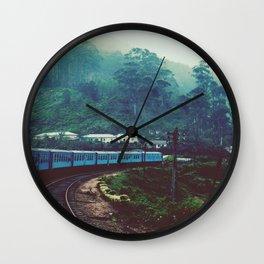 Sri Lanka Wall Clock