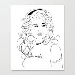 Feminist Dolly Canvas Print