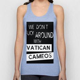 Vatican Cameos Unisex Tank Top