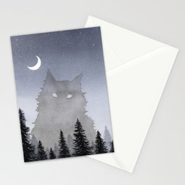 Giant Forest Cat Stationery Cards