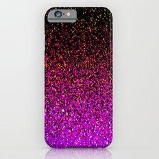 Pink Glitter Sparkle Gradient iPhone 6s Slim Case