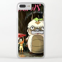 my neighbor appa Clear iPhone Case