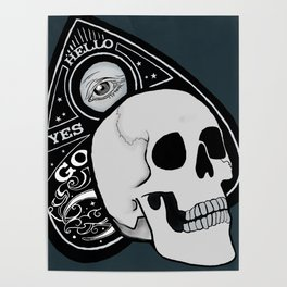 Skully and his best friend Planchette Poster