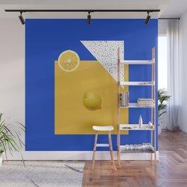 Lemon juice Wall Mural
