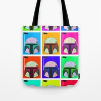 boba Tote Bags featuring Boba-Hol by domm