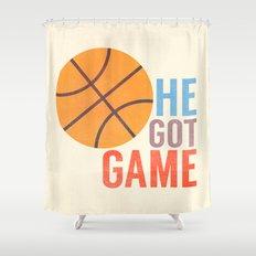 He Got Game Shower Curtain