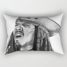 Jack Sparrow - I Wash My Hands Of This Weirdness Rectangular Pillow