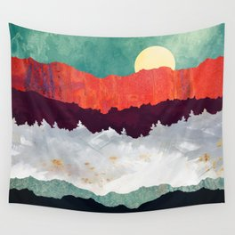 Spring Moon Wall Tapestry
