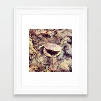 crab Framed Art Prints featuring Crab by Ken Seligson