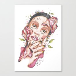I am nature Canvas Print