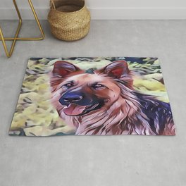 The Shiloh Shepherd Rug