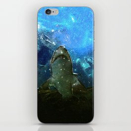 The Great White Marine Lava Lamp iPhone Skin