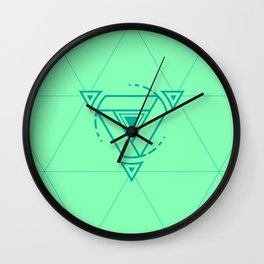 Geomeric Playgrond 04 Wall Clock