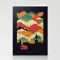 london Stationery Cards featuring London by The Child