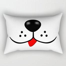 Dog Nose and Mouth Rectangular Pillow