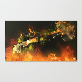 Sniper Rifle 3 Canvas Print