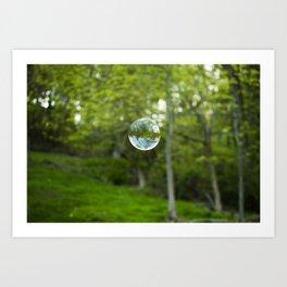 Summer Bubble Art Print