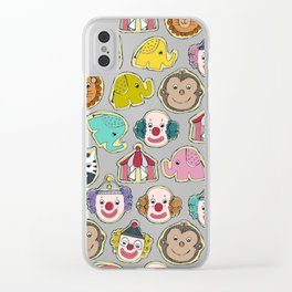 circus cookies multi Clear iPhone Case