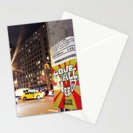 City Night Life Stationery Cards