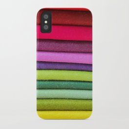 FABRIC FROLIC iPhone Case