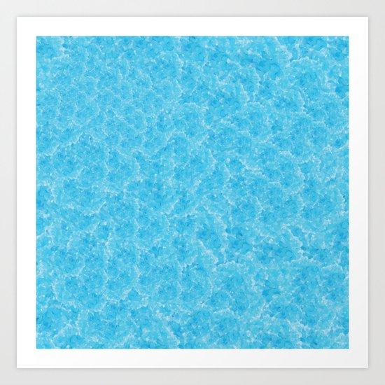 Blue Meth / Happy Sky Art Print