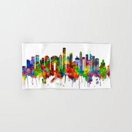 Hong Kong China Skyline Hand & Bath Towel
