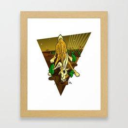 Mutant Zoo - Girabbit Framed Art Print