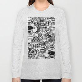 Dark Matter Space Machine Long Sleeve T-shirt