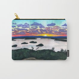 Sunrise of Cadillac Mountain, Maine Carry-All Pouch