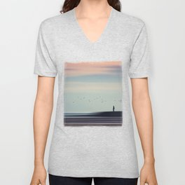 Drifting By Unisex V-Neck