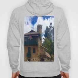 Mount Monserrate at Christmastime Maybe, Bogota, Colombia Hoody