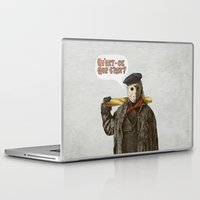 yetiland Laptop & iPad Skins featuring Psycho Killer by Eric Fan