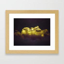 Goddes Dreams Fantasy Artwork Framed Art Print