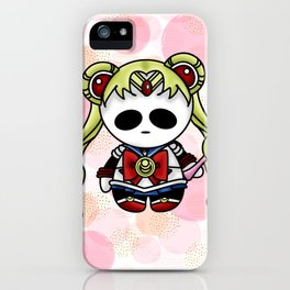 Sailor Panda Moon iPhone Case