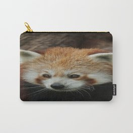 Watchful Red Panda Carry-All Pouch