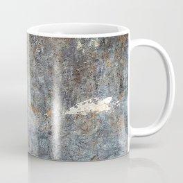 Abstract Grey with White Cloud Coffee Mug