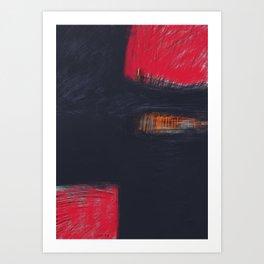 Morceaux/Pieces 4 Art Print