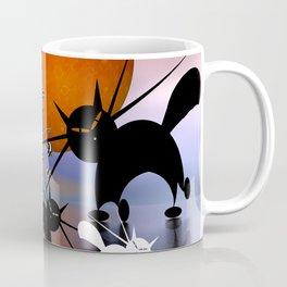 mooncats and the aliens Coffee Mug