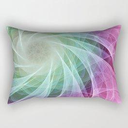 Whirlpool Diamond 2 Computer Art Rectangular Pillow
