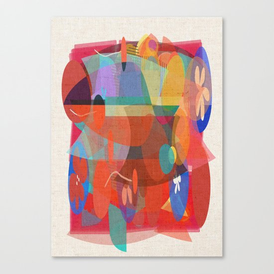 The Mix Canvas Print
