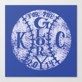 KC: For the Glory Print Canvas Print
