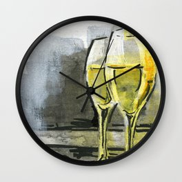 Cava in Barcelona Wall Clock