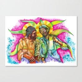 Oda a la diosa Mayahuel / Ode to the godess Mayahuel Canvas Print