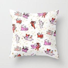Pussycat, I love you Throw Pillow