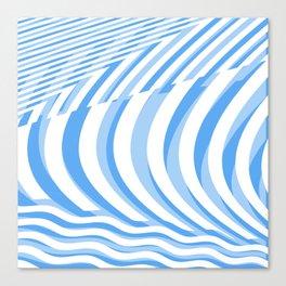 big wave. or many sails Canvas Print