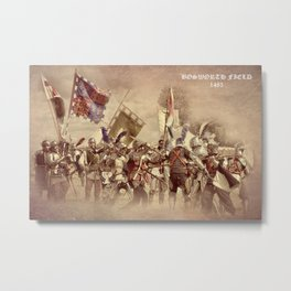 Battle of Bosworth Metal Print