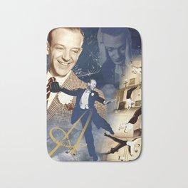 Fred Astaire Collage Portrait 4 Bath Mat