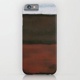 Rothko Inspired #16 iPhone Case